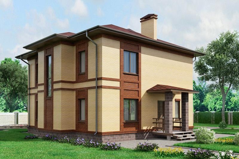 план дома 10х10 из блоков