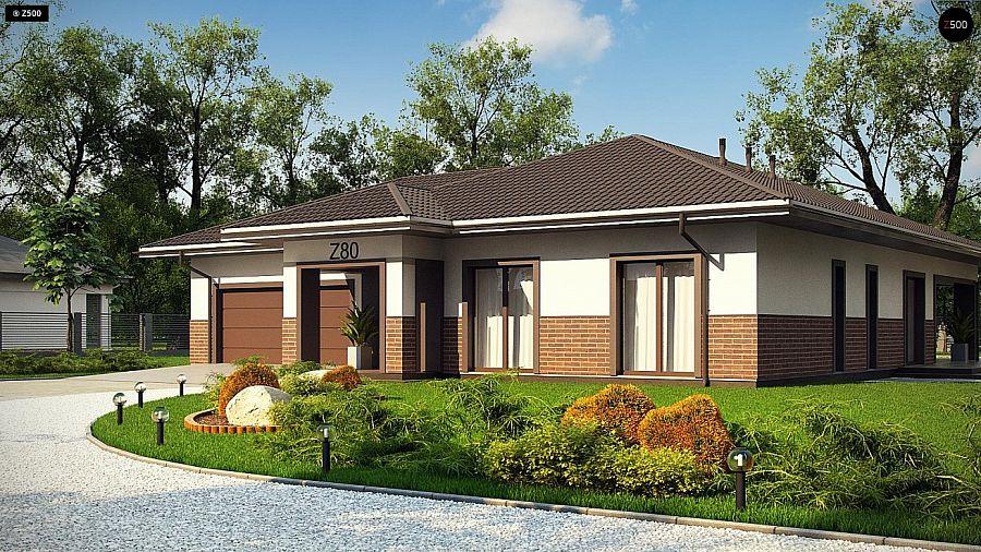 Дизайн одноэтажного дома фото