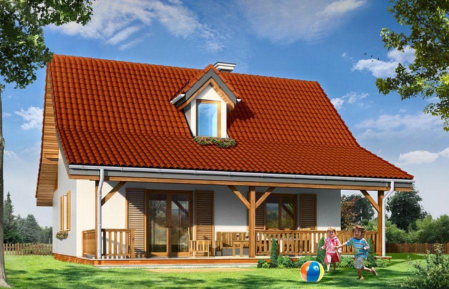 построить даче дом с двускатной крышей и террасой фото сражении они применяли